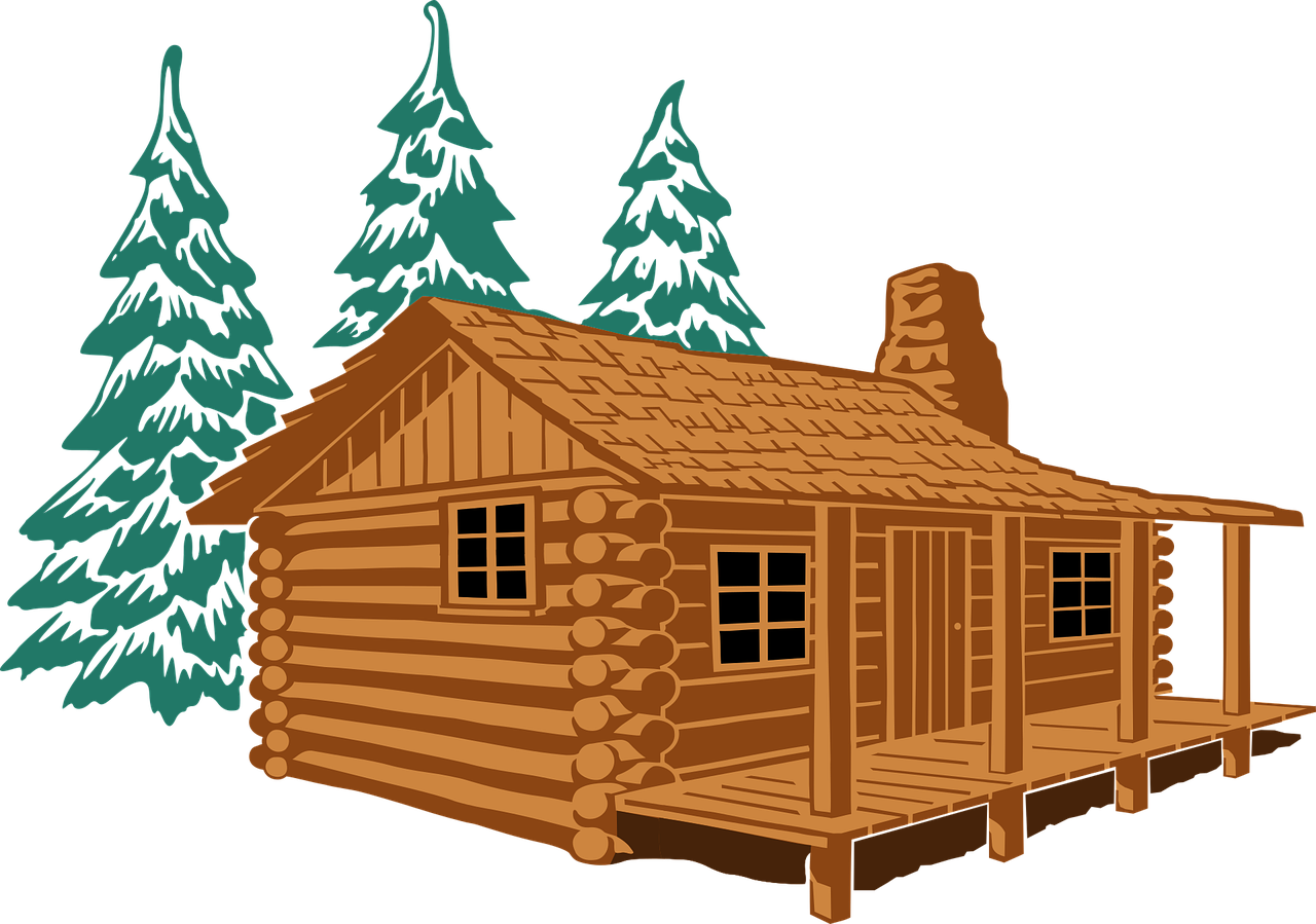 cabin-in-pines-1294291_1280